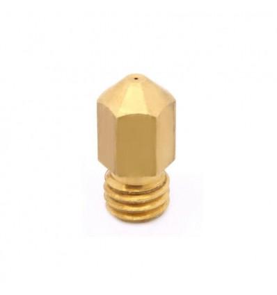 Nozzle 0.2 0.3 0.4 0.5 para filamento 1.75mm