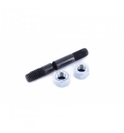 Tornillo extrudor (hobbed bolt)