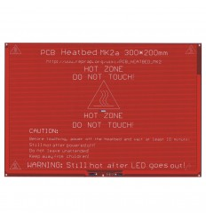 MK2A 300x200 mm PCB Heated