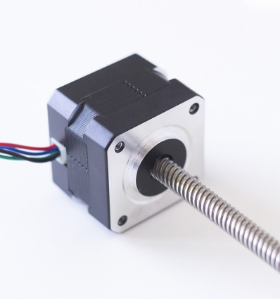 Nema 17 with integrated leascrews