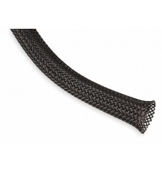 Cable Sleeve black Snakeskin mesh Wire elasticity Protection PET Nylon Cable Sleeves wire