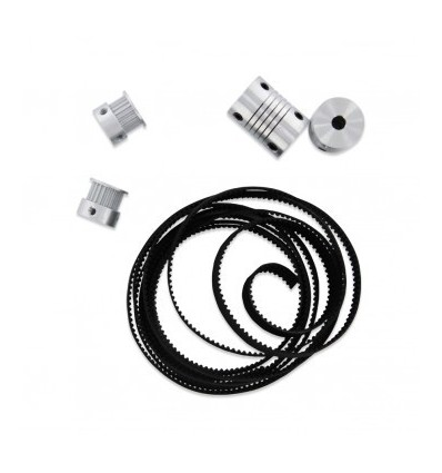 Pulleys and bearings kit for Prusa i3 Steel