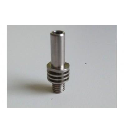 Hot-End screw for DDG extruder