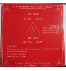 Cama caliente MK2b 12V/ 200x200